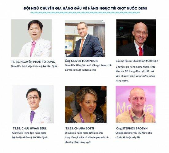 6 bác sĩ cố vấn nâng ngực Nano chip 1
